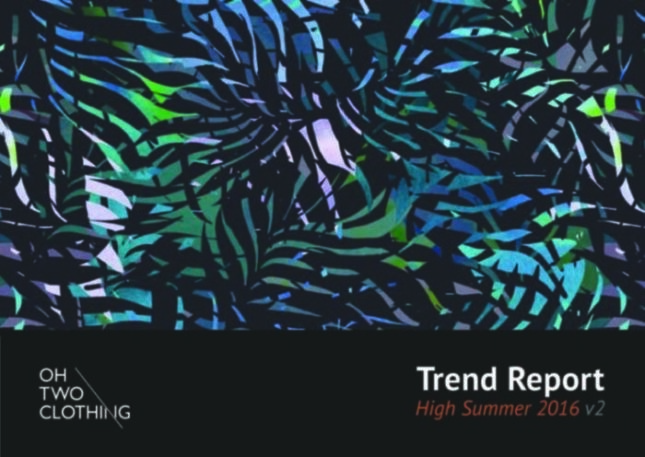 Oh Two Clothing High Summer Trend Report 2016 V2